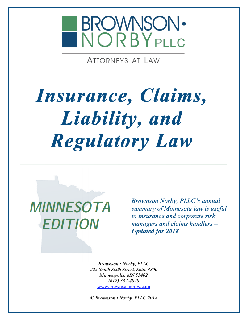 2020 Minnesota Insurance Agent Standard of Care Update and ...