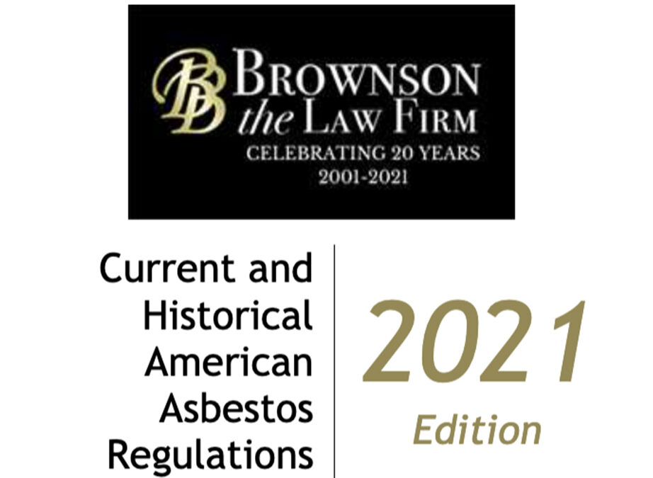 Current and Historical American Asbestos Regulations