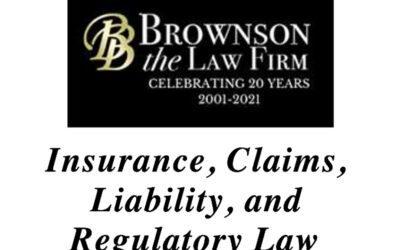 Insurance, Claims, Liability, and Regulatory Law, MN 2021
